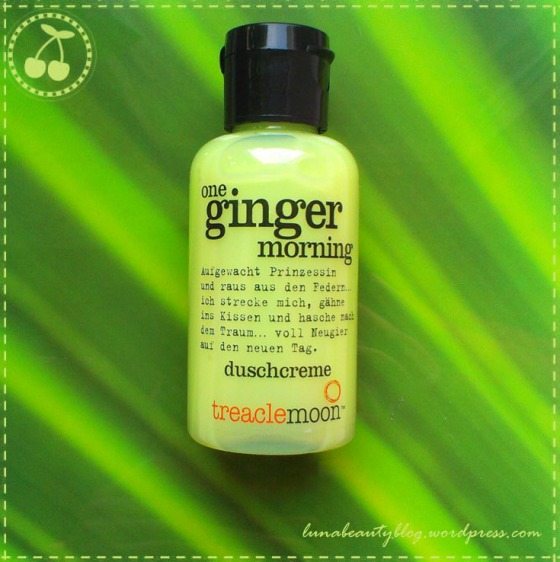 Treaclemoon - One Ginger Morning